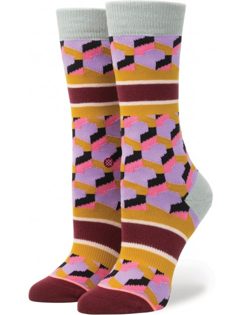 Stance Clutch Tomboy Crew Socks in Purple