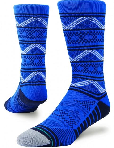 Stance Cobalt Crew Socks in Blue