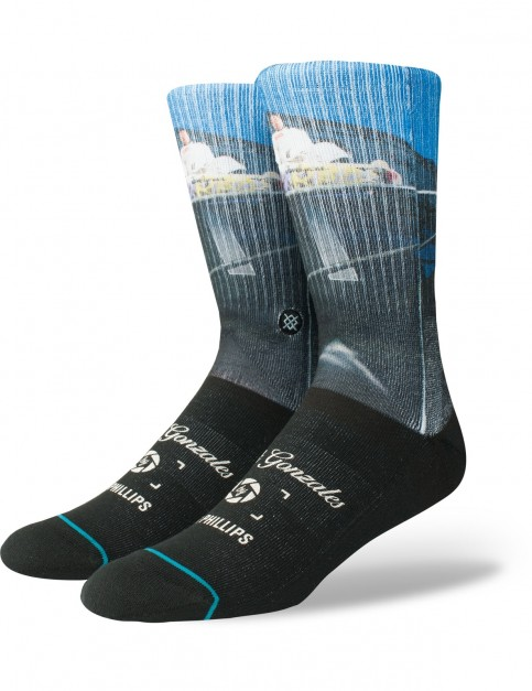 Stance Cologne Crew Socks in Black