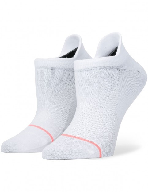 Stance Committed Crew Socks in White
