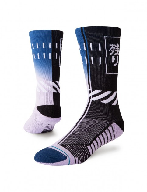 Stance Cooldown Crew Crew Socks in Multi