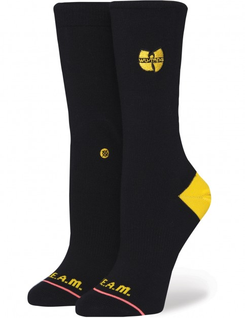 Stance C.R.E.A.M. Crew Socks in Black