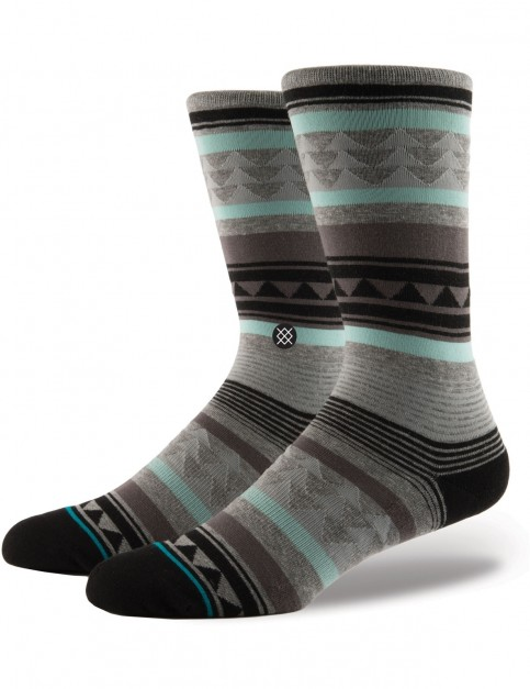 Stance Creek Crew Socks in Grey