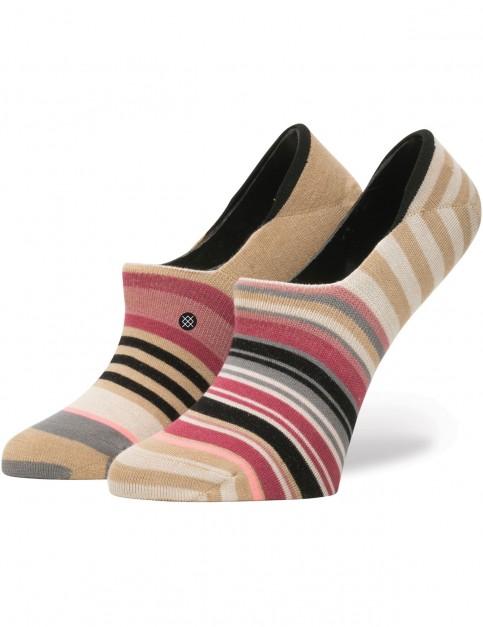 Stance Crescent No Show Socks in Multi Colour