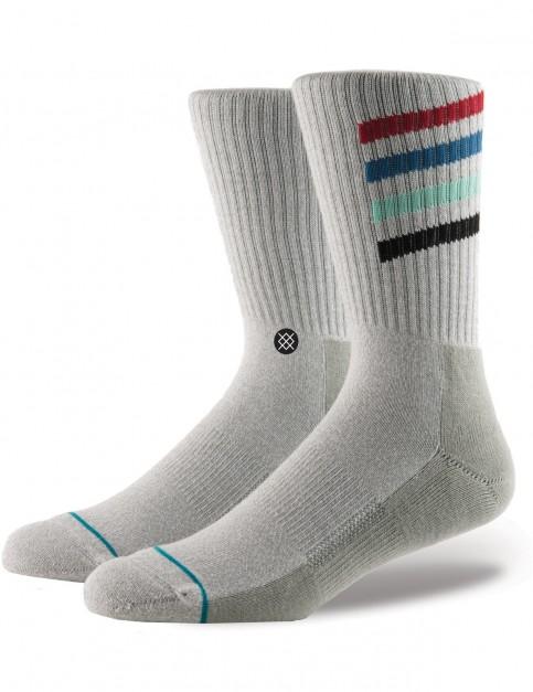 Stance Croton Crew Socks in Grey