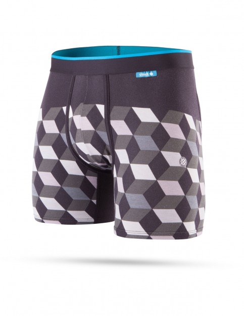 Stance Cubes Underwear in Grey