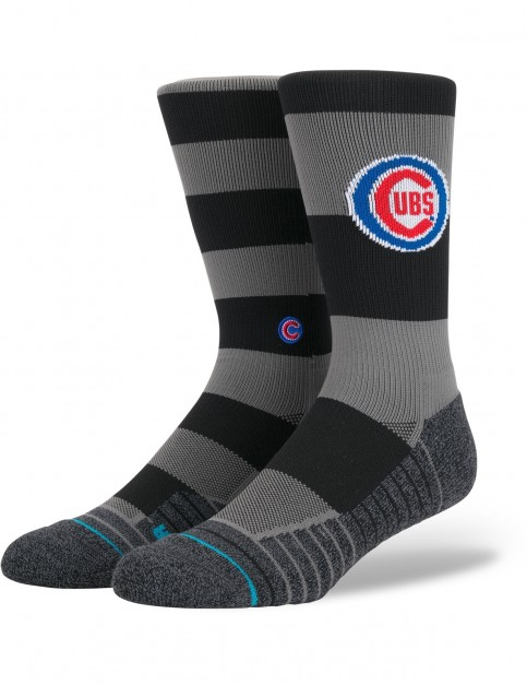 Stance Cubs Nightshade Crew Socks in Black