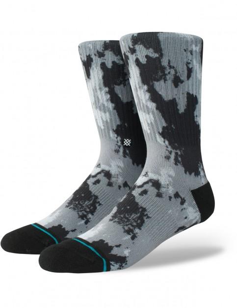 Stance Dazed Crew Socks in Grey