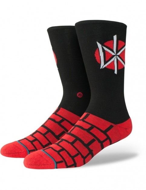 Stance Dead Kennedys Crew Socks in Black