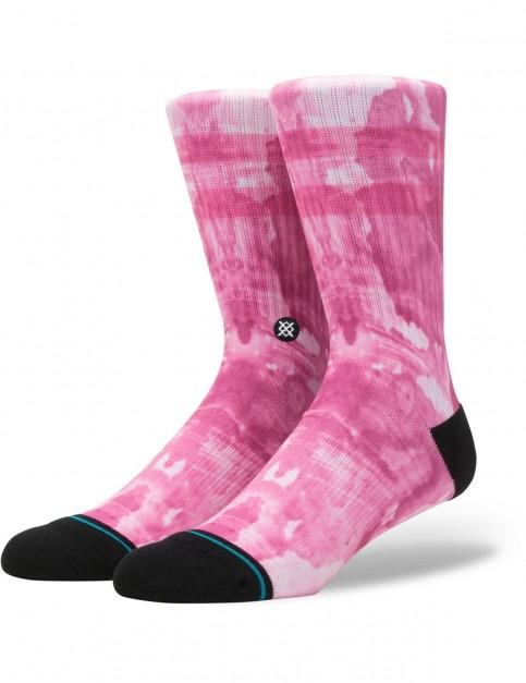 Stance Dead Seas Crew Socks in Pink