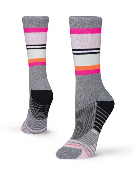 Stance Deadlift Crew Socks in Grey