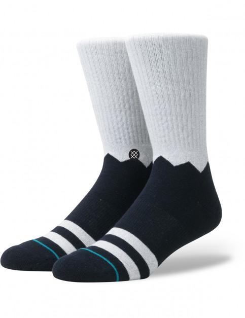 Stance Debris Crew Socks in Grey
