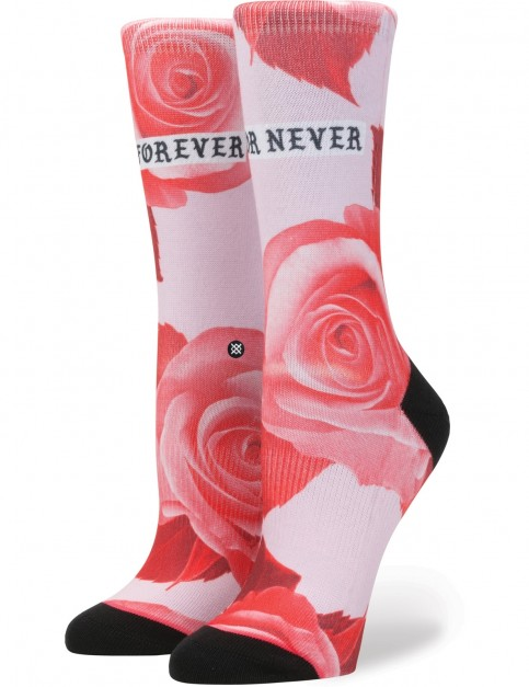 Stance Dedication Tomboy Crew Socks in Pink