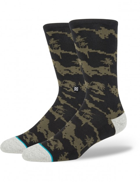 Stance Deep Sea Crew Socks in Black