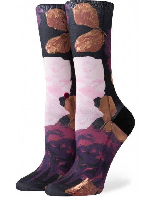 Stance Delilah Crew Socks in Black