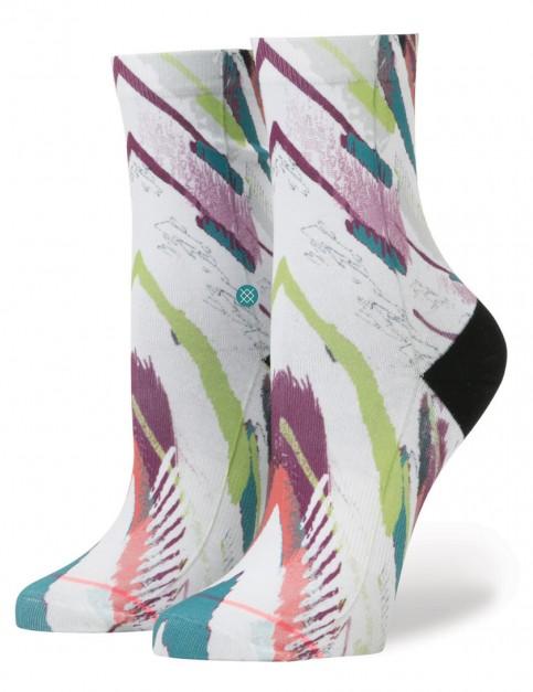 White Stance Delirious Socks