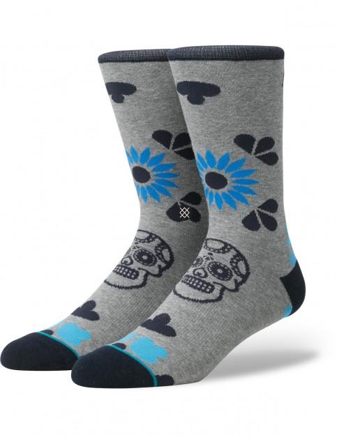 Stance Dia Crew Socks in Grey