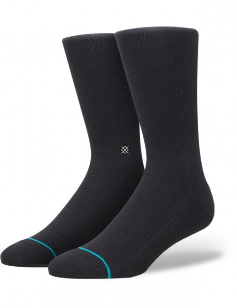 Stance Division Crew Socks in Black
