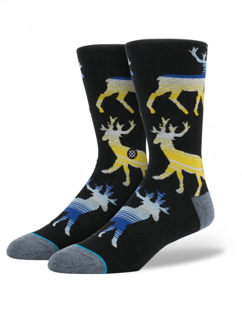 Stance Donner Socks in Yellow