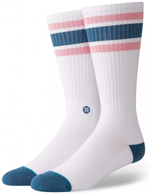 Stance Downhill M Crew Socks in Teal