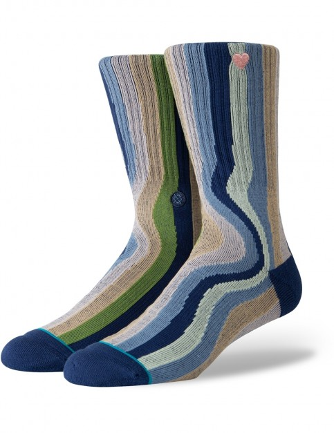 Stance Drip Out Crew Socks in Multi