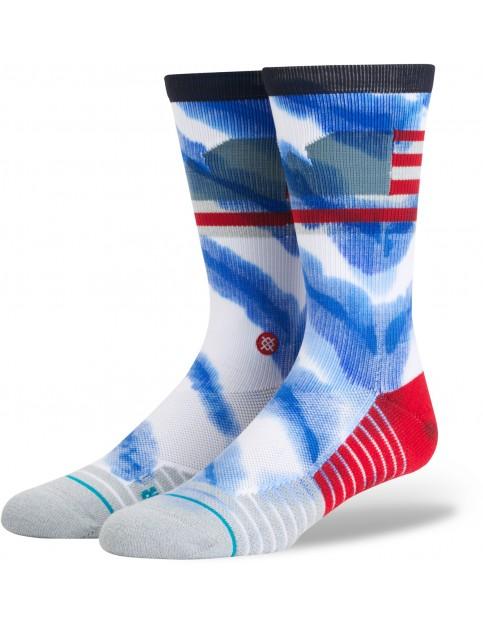 Stance Eagle Nest Socks in Blue