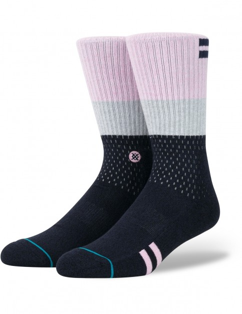 Stance Early Crew Socks in Navy