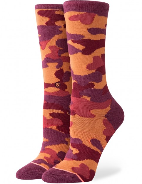 Stance Egyptian Beetle Crew Socks in Tobacco
