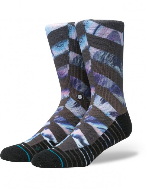Stance El Modena Crew Socks in Black