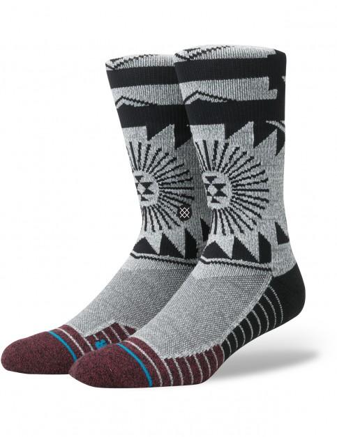 Stance El Morro Crew Socks in Grey