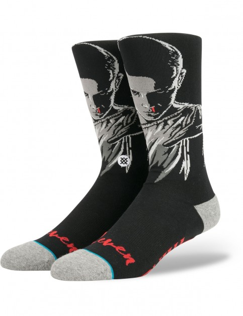 Stance Eleven Crew Socks in Black