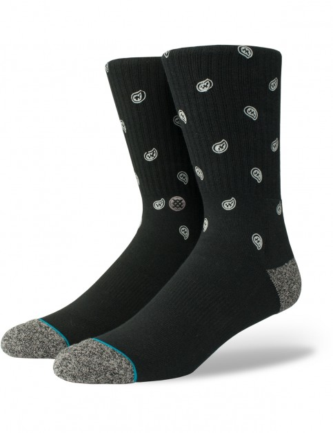 Stance Emerge Crew Socks in Black