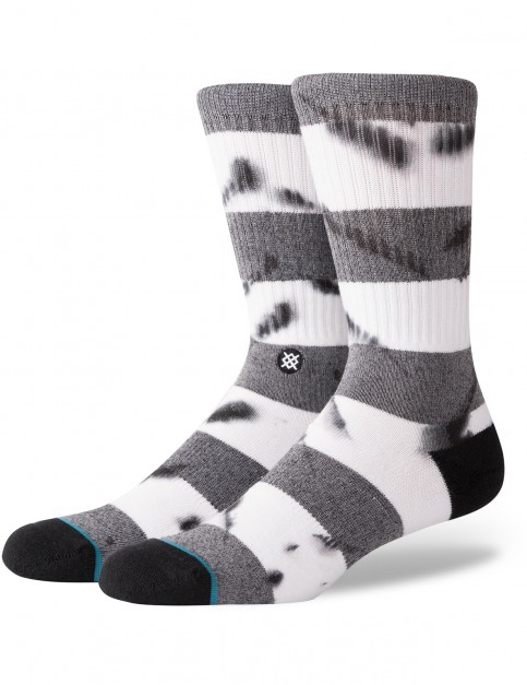 Stance Emmer Crew Socks in Black