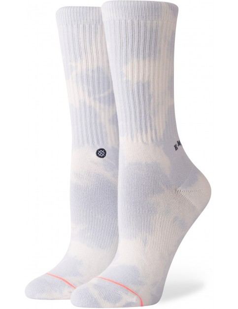 Stance Emotional Crew Socks in Baby Blue