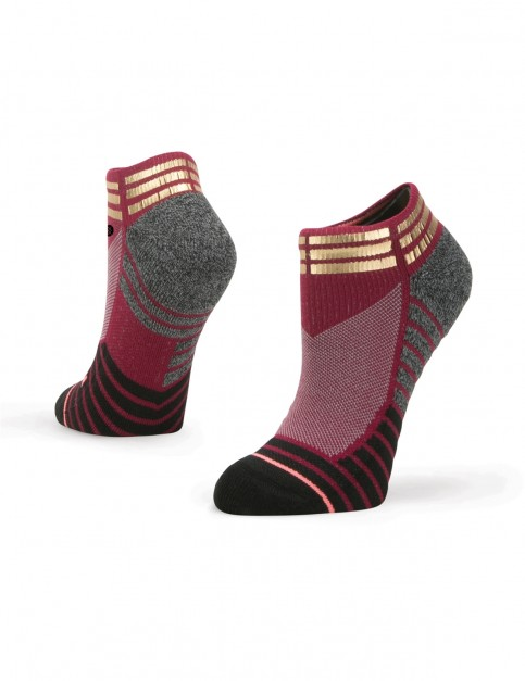 Stance Endorphin Low Ankle Socks in Wine