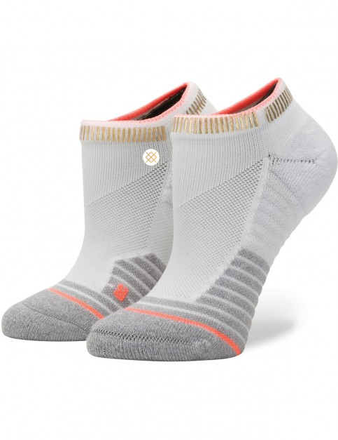 Stance Endorphin Low Crew Socks in White