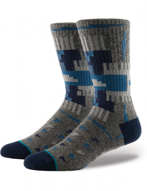 Stance Ericeira Crew Socks in Navy