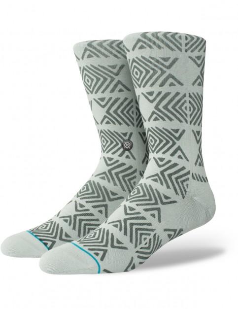 Stance Fait Crew Socks in Grey