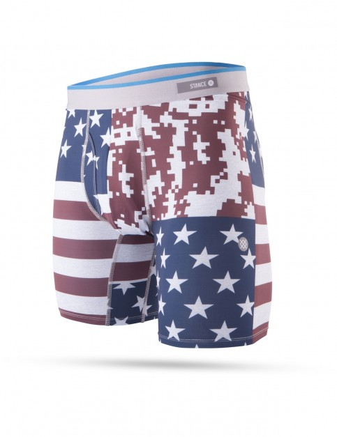 Stance Flag Filter Underwear in Navy