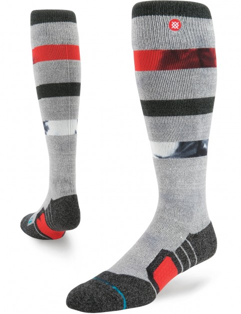 Stance Flood Path Snow Socks in Grey Heather