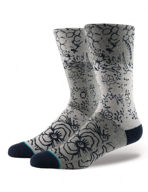 Stance Floridian Crew Socks in Grey