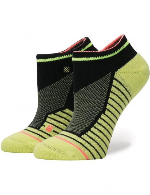 Neon Lime Stance Flortex Crew Socks