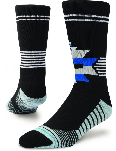 Stance Forces Crew Socks in Black