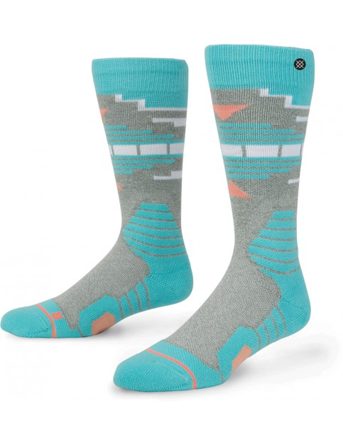 Stance Fox Creek Snow Socks in Grey