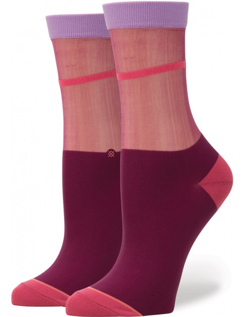 Stance Foxy Crew Socks in Red