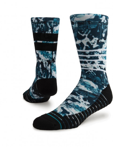 Stance Frostbite Athletic Crew Socks in Blue