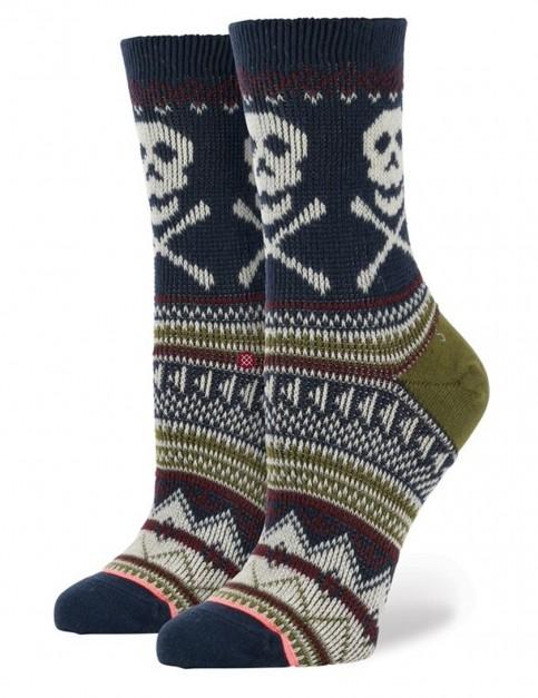 Stance Frostbite Socks in Navy