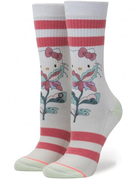 Stance Full Bloom Crew Socks in Multi