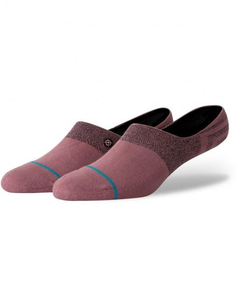 Stance Gamut 2 No Show Socks in Rosesmoke
