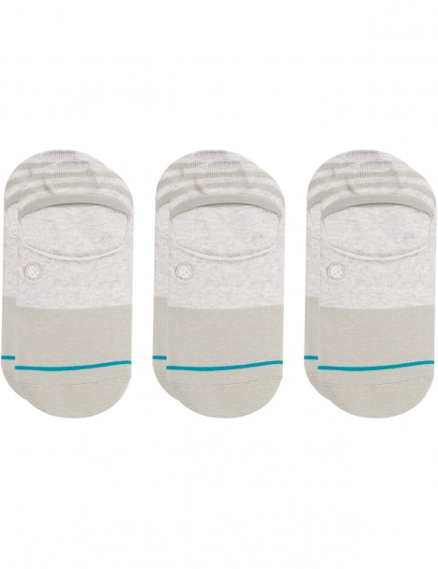 Stance Gamut 3 Pack No Show Socks in Grey